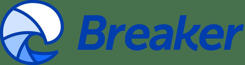 Breaker Logo Podcast Platform